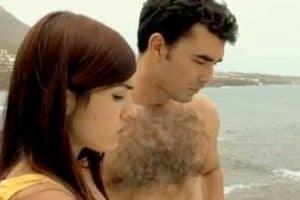 Borja Texeira Veronica Galán cortometraje Cerca del mar