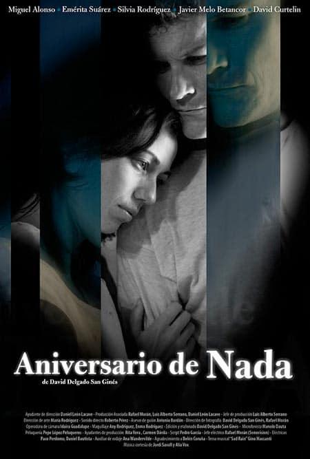 cartel cortometraje Aniversario de nada David Delgado San Ginés