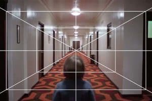 Kubrick one point perspective