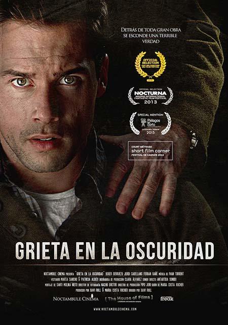 cartel cortometraje Grieta en la oscuridad Xavi Rull