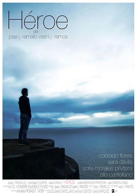 Cartel cortometraje Héroe Jose J. Ramallo Vasni Ramos