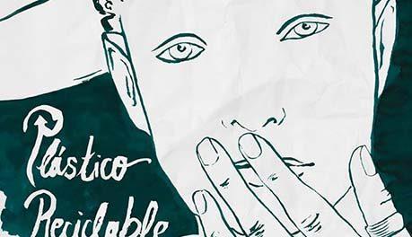 cartel cortometraje Plástico Reciclable