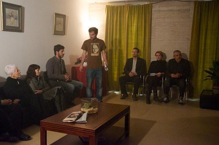 cortometraje No somos nadie Pablo Fajardo