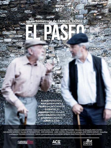 cartel cortometraje El Paseo