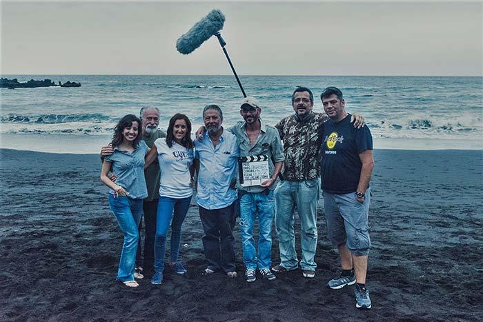 cortometraje El Paseo Carlos Doniz equipo