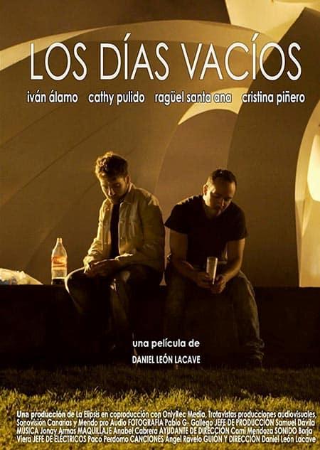 cartel Los dias vacíos Daniel León Lacave