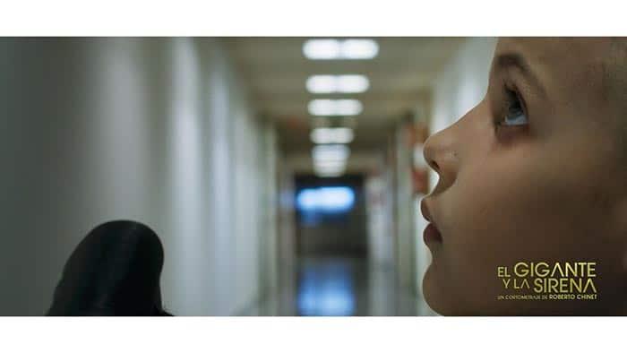 cortometraje El gigante y la sirena Roberto Chinet