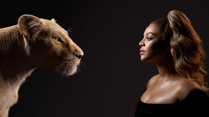 Beyonce Nala el rey leon
