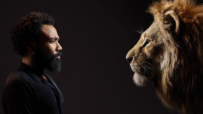 Donald Glover Simba el rey leon