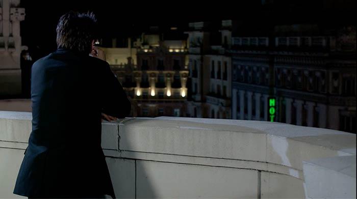 Fernando Tejero cortometraje cama blanca