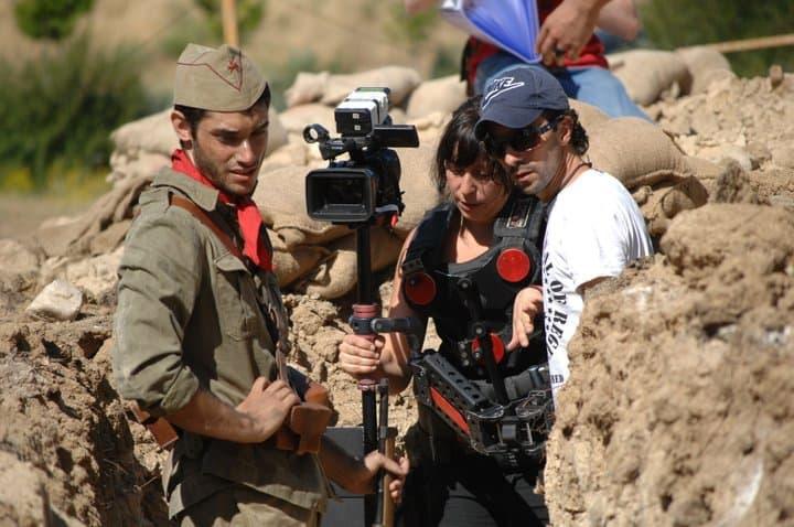 Jaime Menéndez Fran Casanova cortometraje Campo de batalla