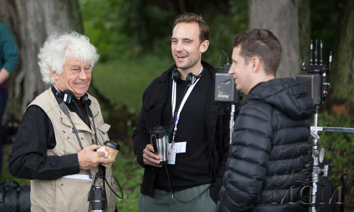 Jean-Jacques Annaud con Joel Dicker