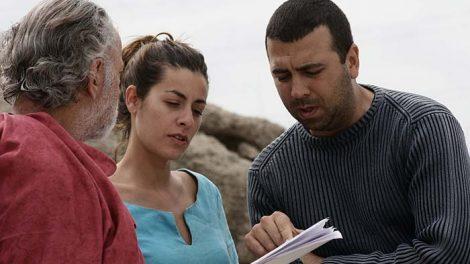 Jose Luis de Madariaga Irene Álvarez Oscar Martínez rodaje mediometraje Amania