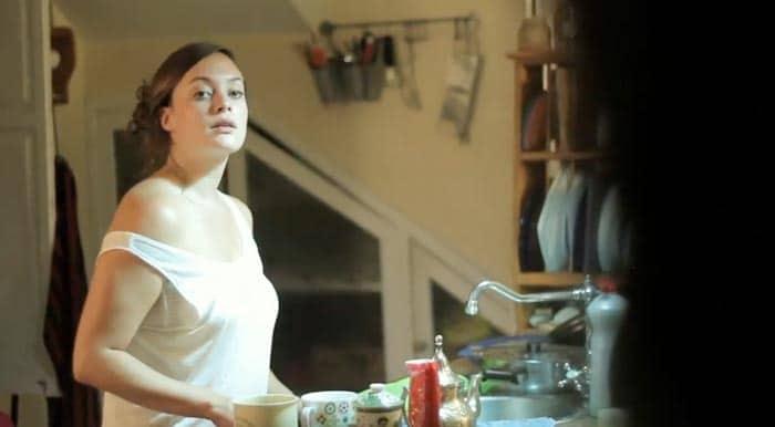 Marta Viera cortometraje Mientras anochece