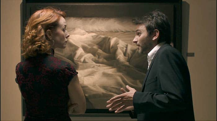 Paola Bontempi Fernando Tejero cortometraje cama blanca