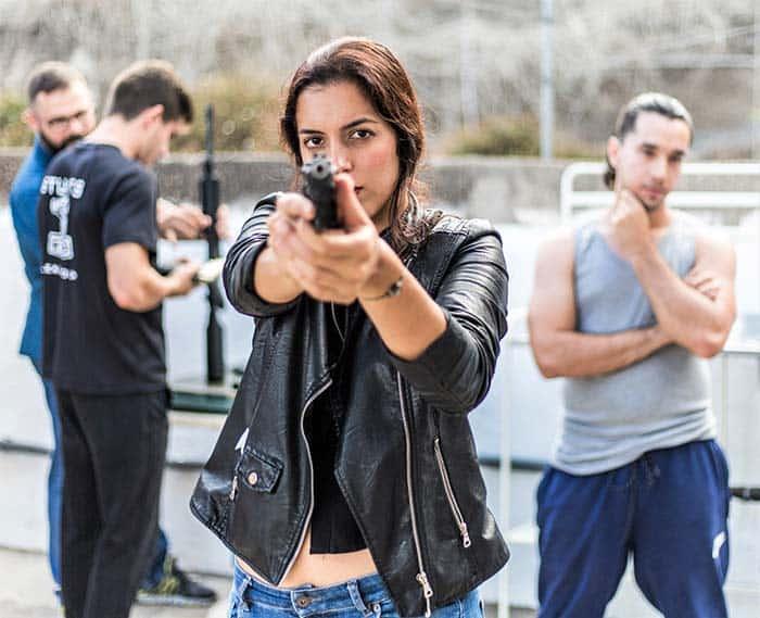 Raquel Rial stuntwoman