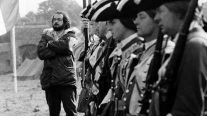 Stanley Kubrick set Barry Lyndon