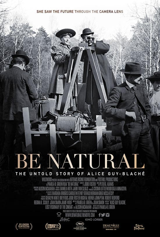 be natural the untold story of Alice Guy-Blaché