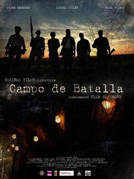 cartel cortometraje Campo de batalla Fran Casanova