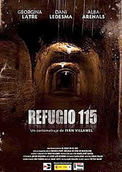 cartel cortometraje Refugio 115 Ivan Villamel Sánchez