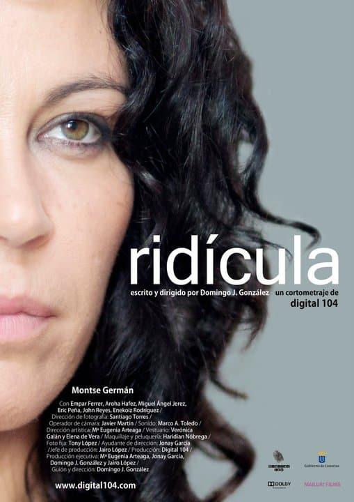 Cartel cortometraje Ridicula Domingo J. González