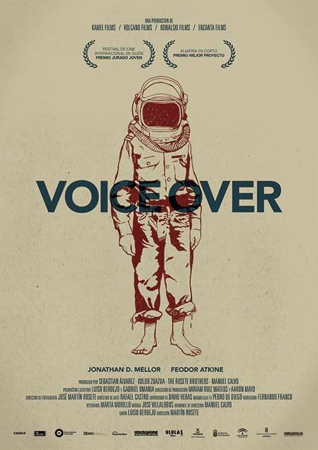 cartel cortometraje Voice Over Martin Rosete