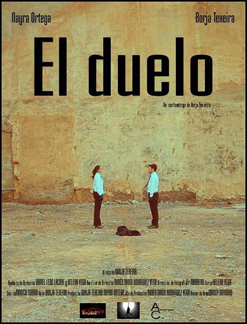 cartel cortometraje El duelo Borja Texeira