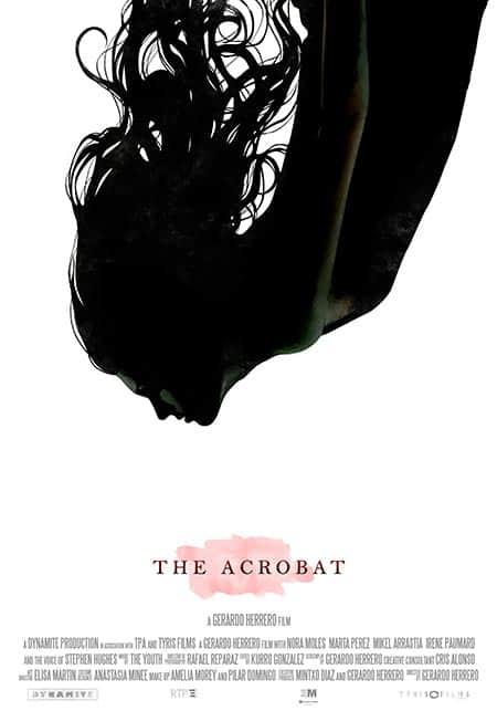 cartel cortometraje The Acrobat Gerardo Herrero