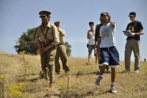 Fran Casanova cortometraje Campo de batalla