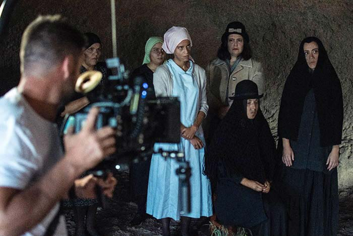 La cueva de las mujeres, rodaje