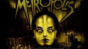 Metropolis Fritz Lang cartel