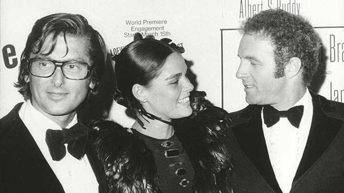 Robert Evans, Ali Macgraw, James Caan