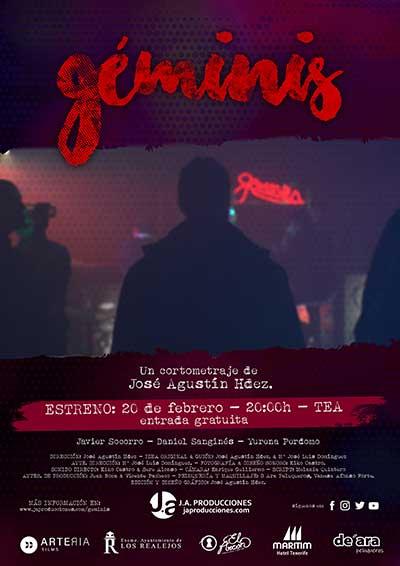 cartel cortometraje Géminis