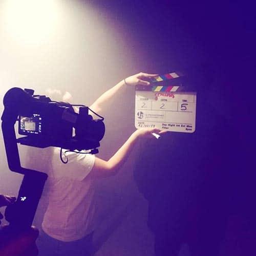 rodaje cortometraje Géminis