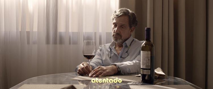 Fotograma cortometraje Atentado de Roberto Chinet
