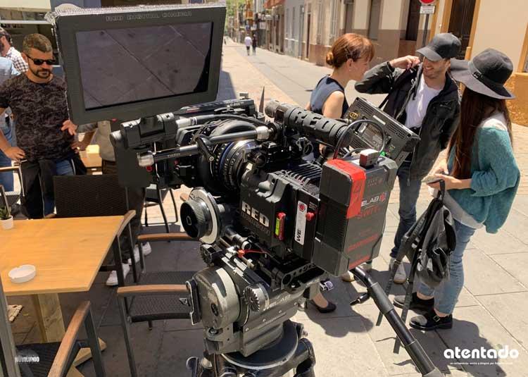 Making of de cortometraje 'Atentado' de Roberto Chinet
